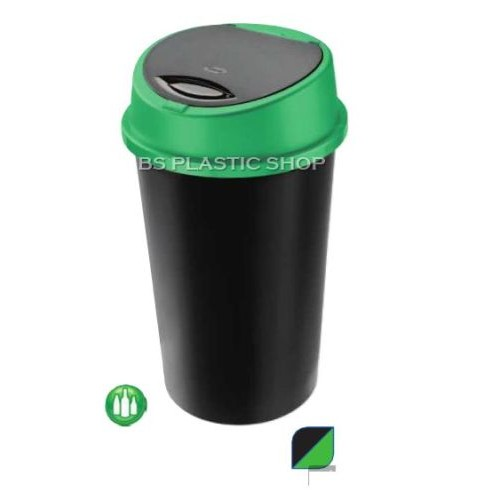45 litre Touch Top Kitchen bin | Dustbin Rubbish Paper Waste Bin with Lid