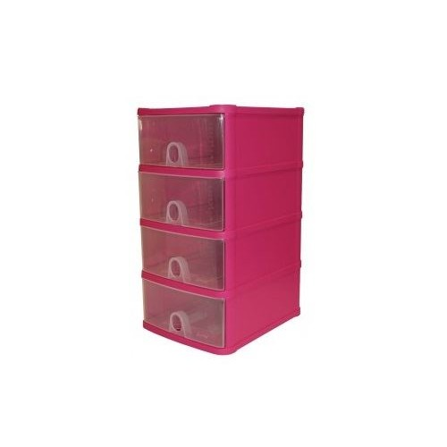 Plastic 4 Tier Handi Drawer