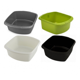 Plastic Rectangular Bowl Large
