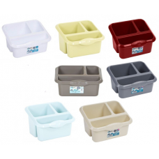 Plastic Large Sink Tidy Cutlery Drainer Holder Caddy