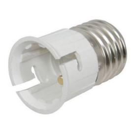 B22 to E27 Lamp Light Bulb Socket Base Converter Bayonet Cap to Edison Screw
