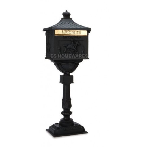 Victorian Style Post Letter Mail Box 117 cm High
