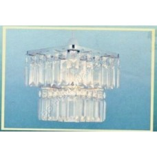 Non Electric 2 Tier Square Pendant