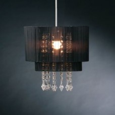 Black Riband Light Shade Pendant