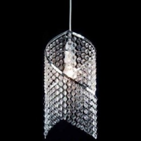 Arcylic Spiral Droplet Ceiling Light Shade Chandelier
