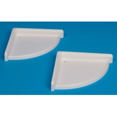 Plastic Shelf Set Of 2