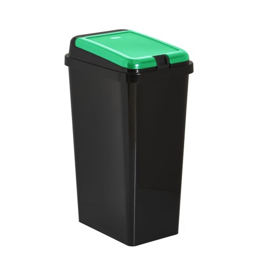 Kitchen Waste Bin 45L Touch Top Bin Green Home Recycling Recycle Bins