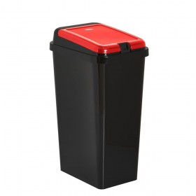 Kitchen Waste Bin 45L Touch Top Bin Red Home Recycling Recycle Bins