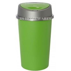 45 Liter, Lime Green Kitchen Bin, with lid | Plastic Touch Top Bin