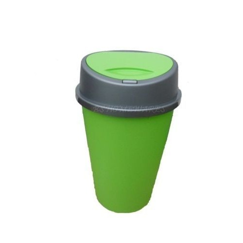 green kitchen bin 45 liter lime green kitchen bin with lid plastic touch 1386