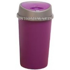 45 Liter Plum/Purple Plastic Touch Top Bin