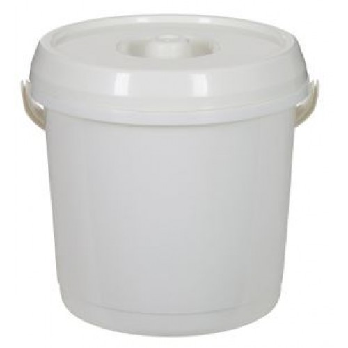 14 Liter Plastic Nappy Bucket With Lid | Nappy Bucket with Lockable Lid