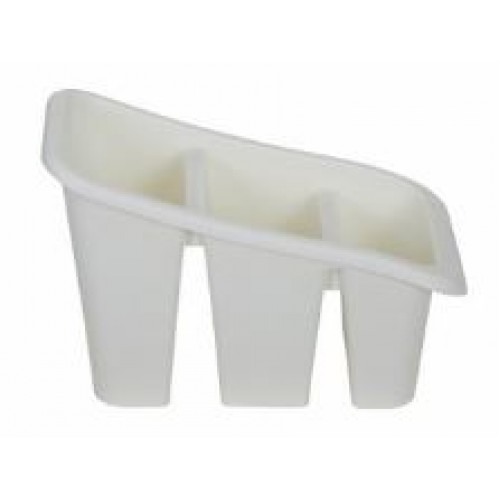 Plastic Cutlery Holder Sink Tidy