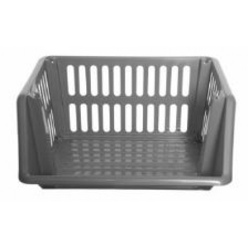 Plastic 35cm Stacking Basket Set Of 3
