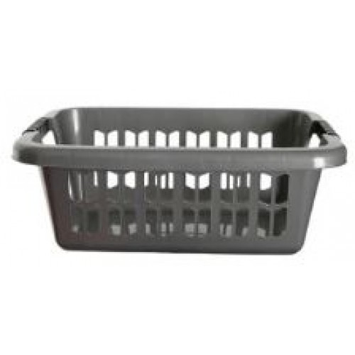 Plastic Easy Grip Rectangular Laundry Basket