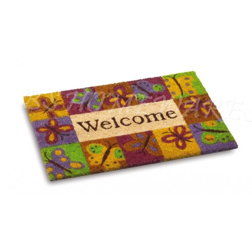 New Large Coir Door Mat Floor Reception Entrance Door Mat Matting Indoor Outdoor
