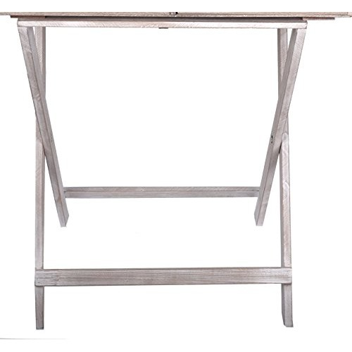 Breakfast Folding table Serving Tray with storage drawer and stand