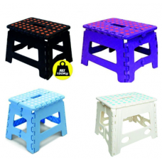 Small Folding Step Stool Plastic | Lightweight Folding Step Stool | 28cm | 11 Inch