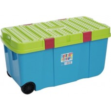 125 litre | Extra Large Plastic Storage Boxes With lids and Wheels