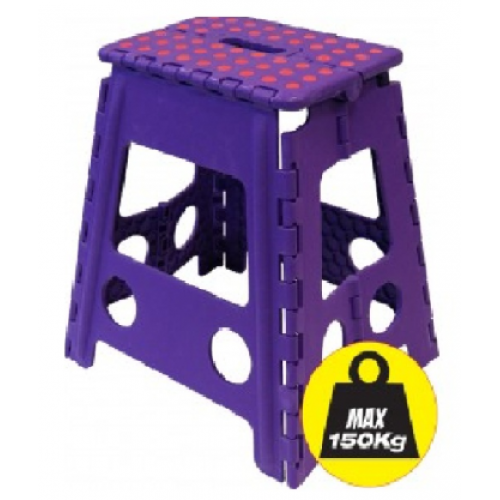 Small Folding Step Stool Plastic Lightweight Folding
