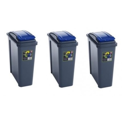 25 Kitchen Recycle Bin Set Of 3