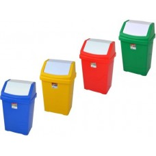 Plastic Color Coded 50L Liter Swing Bin Heavy Duty