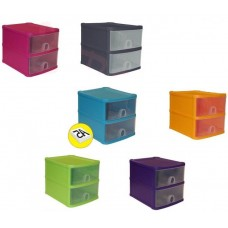 Plastic 2 Tier Handi Drawer