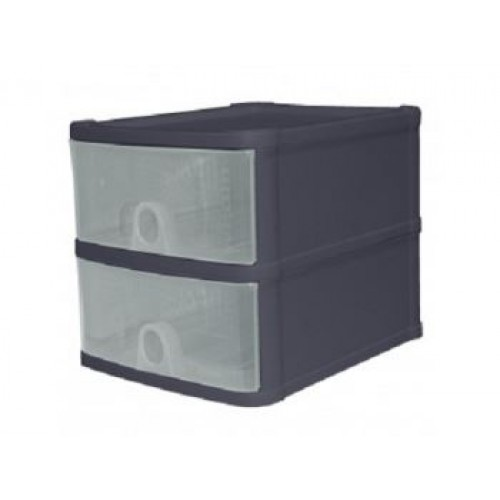 Plastic 2 Drawer Storage Unit | Handi Drawer |  In 2 Colors