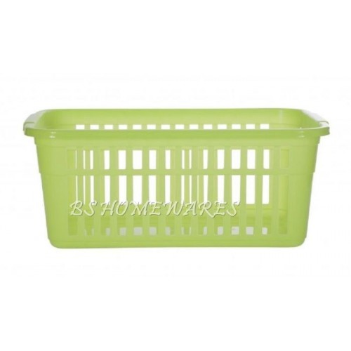 Set of 10x Plastic Red Handy Basket Small in 25,30,37, 45cm