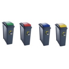 25 Liters Plastic  Recycling Recycle Bin Set Of 4