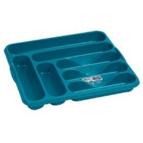 Plastic Large 7 Compartment Cutlery Tray