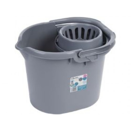 Plastic 16 Liter | Mop and bucket | Cleaning mop