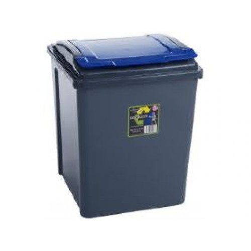 Home Recycling Bins | 50 litre Recycling Bin | Coloured Lids