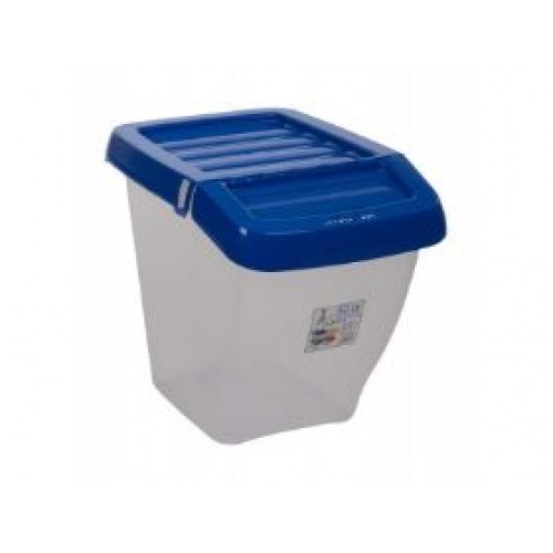 30 Liter Recycling Bin & Hinged Lid With Colored Lid