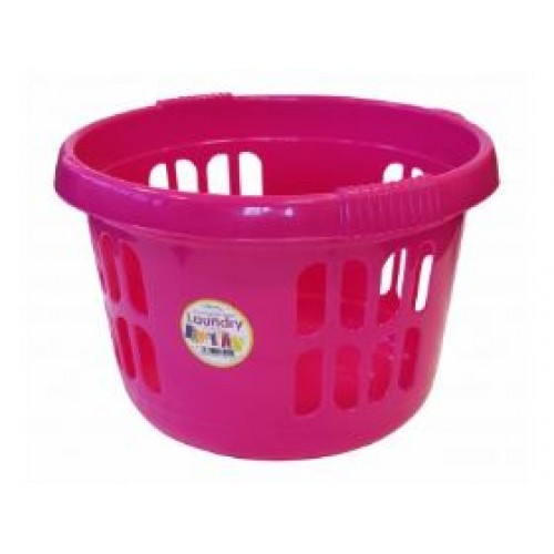 Plastic Large Round Laundry Basket